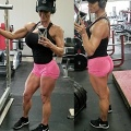 Girl with muscle - Tiffany Nance