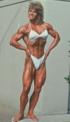 Girl with muscle - Mary Ellen Campo