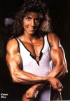Girl with muscle - Karen Pica