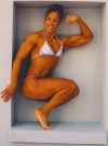 Girl with muscle - norma nieves