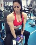 Girl with muscle - Vika Pogribnyak