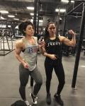 Girl with muscle - Dana Linn Bailey / Stephanie Flecha