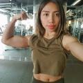 Girl with muscle - Pania