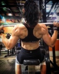 Girl with muscle - Carol Hasenbalg