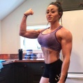 Girl with muscle - Kandace Kuhnle