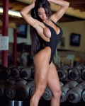 Girl with muscle - Kenya Oliveira