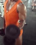 Girl with muscle - janaina pinheiro