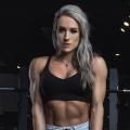 Girl with muscle - Stephanie Hammermeister