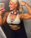 Girl with muscle - Carolina Asplund