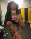 Girl with muscle - Fionnula McHale