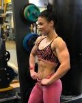 Girl with muscle - Eini Koskinen