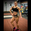 Girl with muscle - Natalya Lesukova Lagutkina
