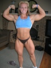 Girl with muscle - Cindy Phillips