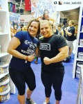 Girl with muscle - Kellie Donaldson, Chleo Van Wyk