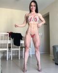 Girl with muscle - Josiane Kinder