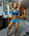 Girl with muscle - Shania Kurniati Andjari