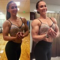 Girl with muscle - Charis (blonde_biceps)