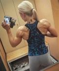 Girl with muscle - Anna Sofia Pekkarinen