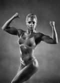 Girl with muscle - Alexandra Radovka
