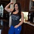 Girl with muscle - Trish Warren