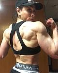 Girl with muscle - rosanna harte