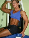 Girl with muscle - Mary Hallman
