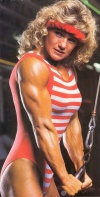 Girl with muscle - Cathy Wright