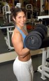 Girl with muscle - Emmanuela Pintus