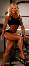 Girl with muscle - Lena Johannesen