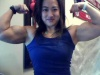 Girl with muscle - Amanda Lau