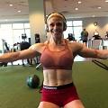 Girl with muscle - Ashley Hromyak