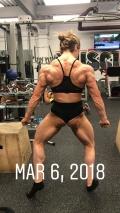 Girl with muscle - Michaela Aycock