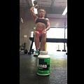 Girl with muscle - Kisha Carr