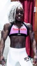 Girl with muscle - Toks Macaulay