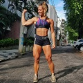 Girl with muscle - Vanessa Garcia