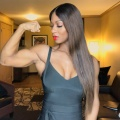 Girl with muscle - Candice Lewis