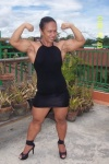 Girl with muscle - Rowena Marcaida