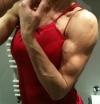 Girl with muscle - Tatyana Hristova aka tatichamp