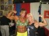 Girl with muscle - Yaxeni Oriquen (l); Rene Marven (r)