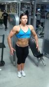 Girl with muscle - Emma Rosengren