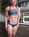 Girl with muscle - Iryna Kozlova