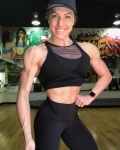 Girl with muscle - Ashley Wiens