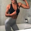 Girl with muscle - Mariana Sfakianakis