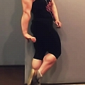 Girl with muscle - anya pardjiani