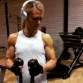 Girl with muscle - Linda Backlund
