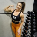 Girl with muscle - Anna Smith