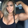 Girl with muscle - Vanessa Lopes Moraes