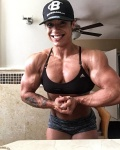 Girl with muscle - Kristina Nicole Mendoza