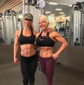 Girl with muscle - reni desheva / kari pederson
