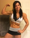 Girl with muscle - Olivia Taylor